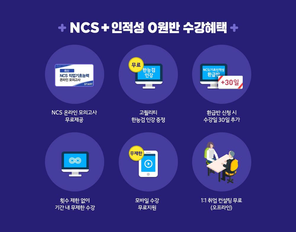 2017 해커스 NCS 인적성 0원 환급반 후기 추천